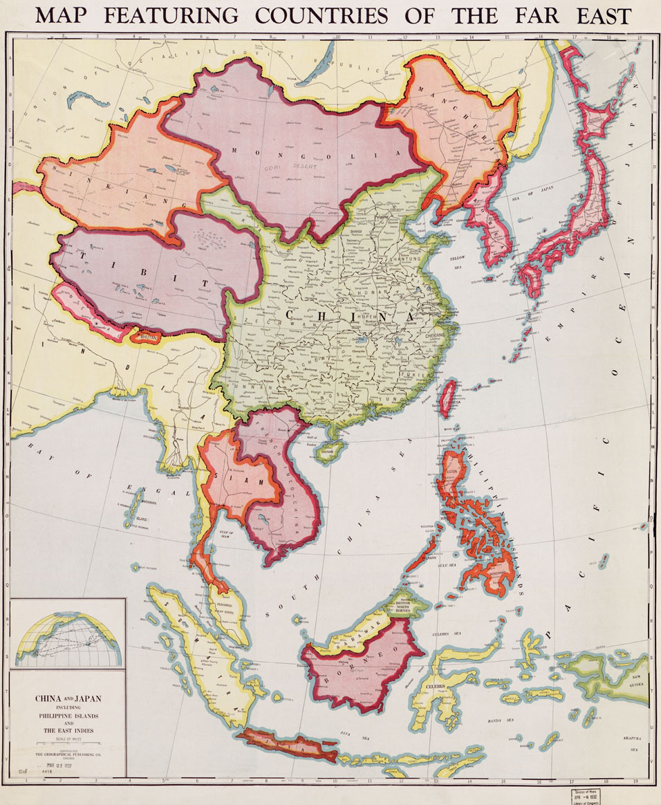 Countries Cultures China: Chinese Revolution Maps