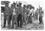 Men captured by Castro's forces during the failed Bay of Pigs operation in 1961