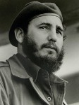 The distinctive face of Fidel Castro, around the time he seized control of Cuba in 1959