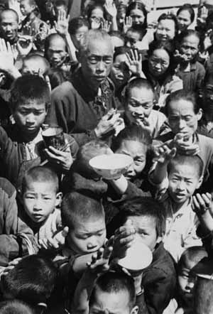 China's great famine: 40 years later