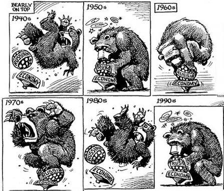 economía soviética guerra fría