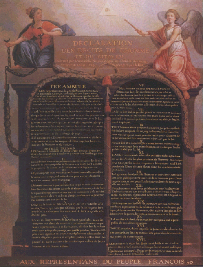 a history of the french revolution in 1789 French revolution first phase: 5th may 1789: opening of the État-général at versailles 17th june 1789: mirabeau elected president of the french assembly 2nd march 1791: abolition of royal guilds and monopolies 15th may 1791.