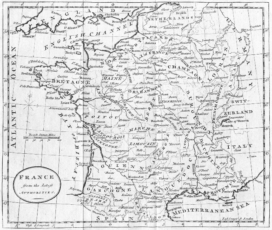 Map Of France During The French Revolution.French Revolution Maps