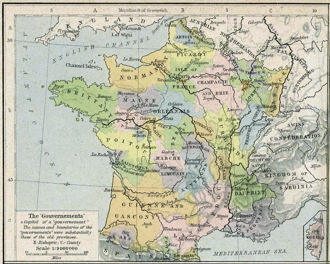 Map Of France During French Revolution.French Revolution Maps