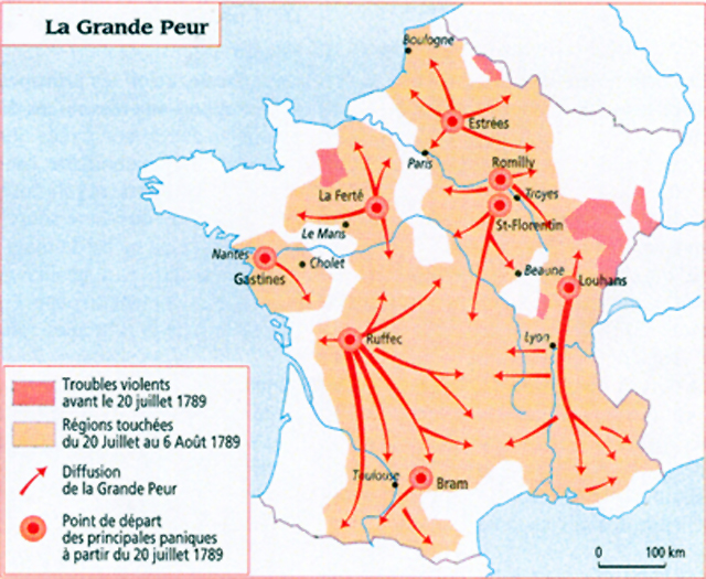 Map Of France And Europe.French Revolution Maps