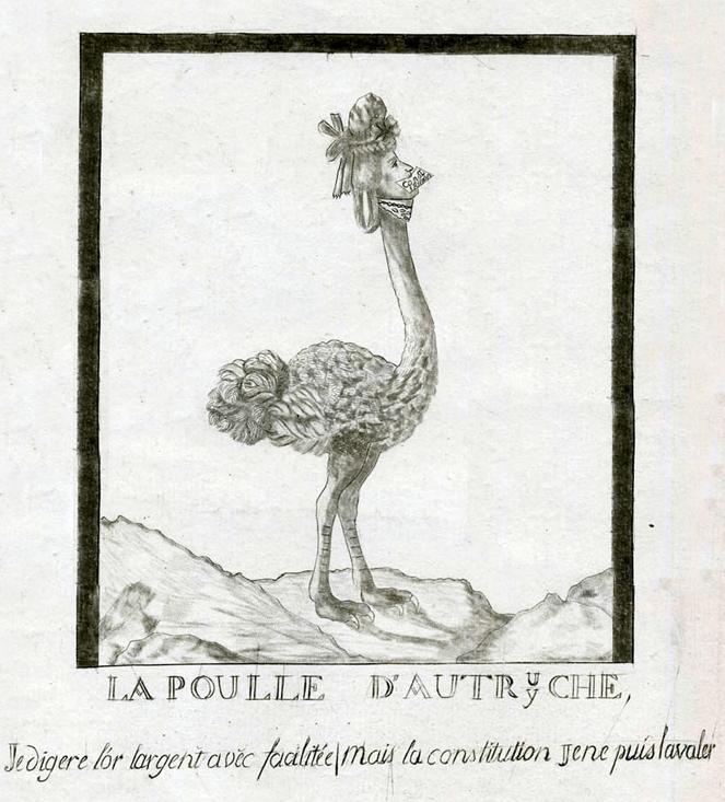 Marie Antoinette Caricature