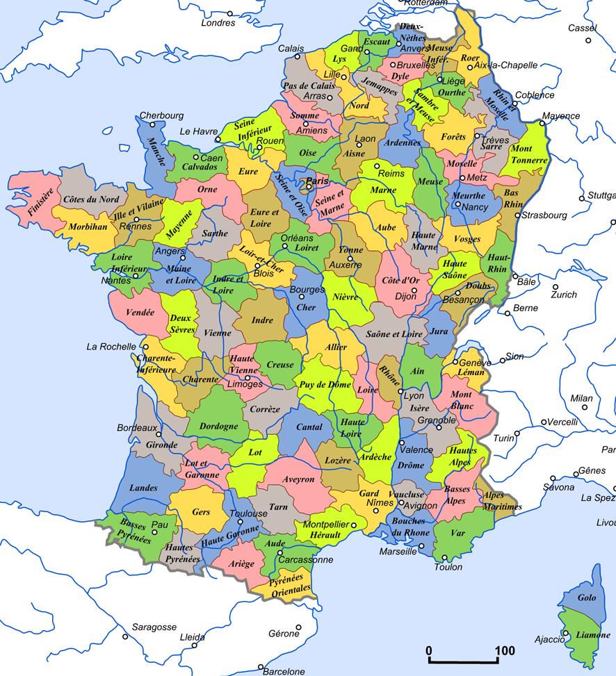 Map Of France Provinces.Remaking France