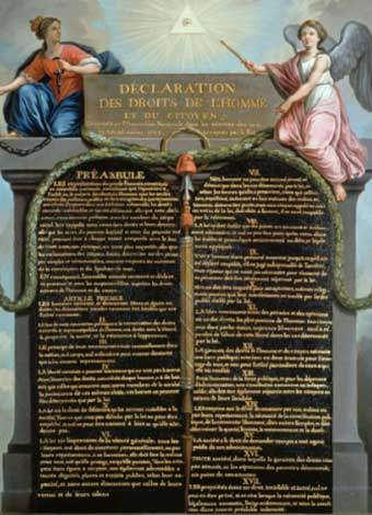 rights of man and citizen - The Declaration Of