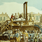 A depiction of Antoinette's execution in October 1793