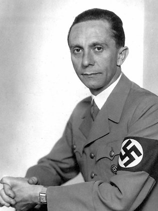 the life and military career of joseph goebbels Joseph-goebbels-speaking-at-nazi-rally - axis military leaders   insurance  broker, before taking a similar job with a right-wing writer, according to the bbc   in interviews conducted towards the end of her life, pomsel said a.