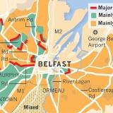20. Peace lines in Belfast