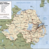 4. CIA map of Northern Ireland