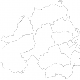 5. Outline map of Northern Ireland