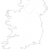 6. Outline map of Ireland and Northern Ireland