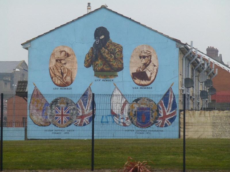 Northern ireland murals for Mural belfast