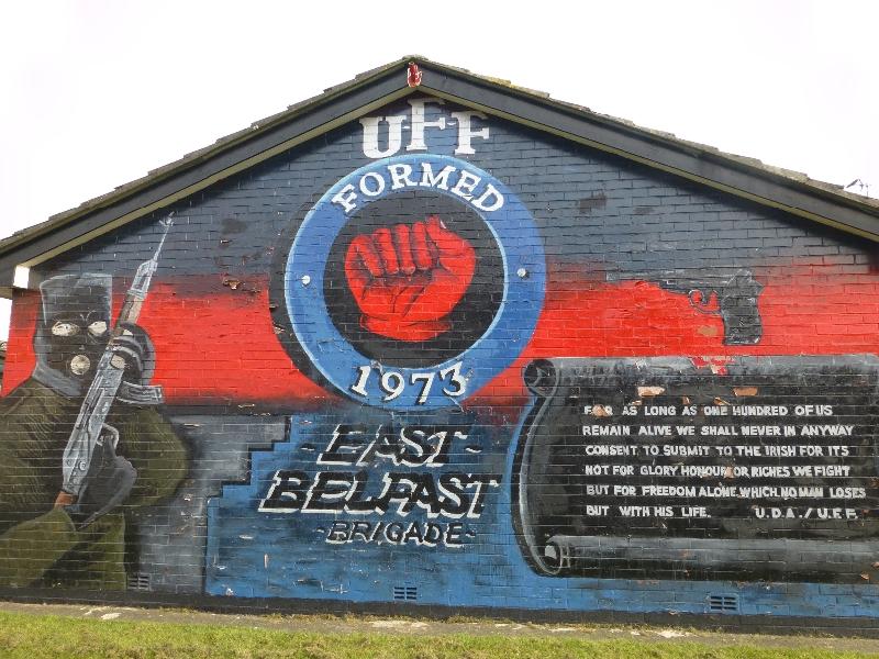Northern ireland murals for Mural in belfast