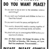 1973-Belfast-womens-freds rally-affisch-Nordirland
