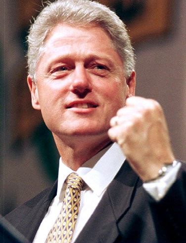 Examples List on Bill Clinton