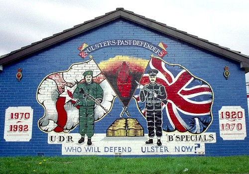 Operation banner the british army in northern ireland for Mural northern ireland