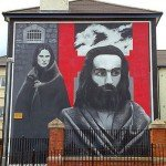 hunger strikers mural