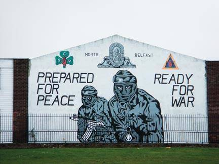 Northern ireland and the troubles for Mural northern ireland