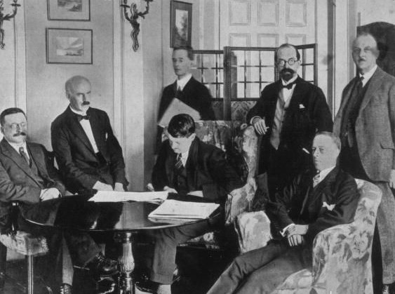 Today in Irish History,the Anglo-Irish Treaty is Signed, 6 December 1921