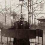 A Paris urinal c.1880 - not much privacy for anything really