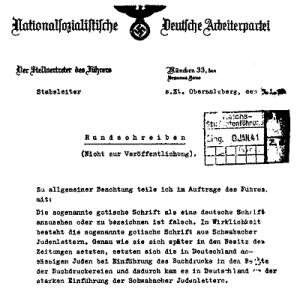nazi jødiske skrifter