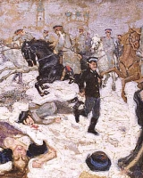 1905-charge-of-the-kavaleriet-in-Moskva