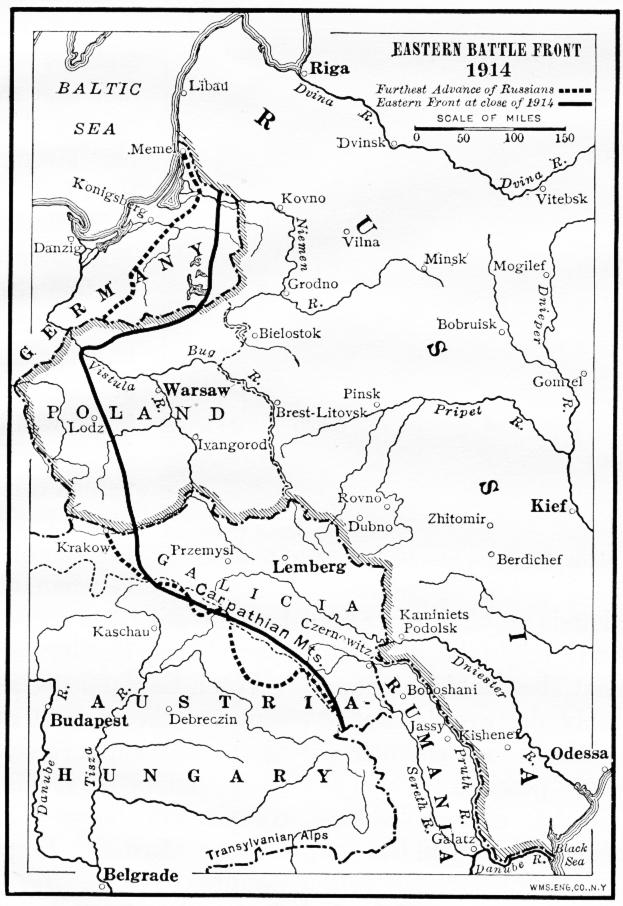 russian revolution maps