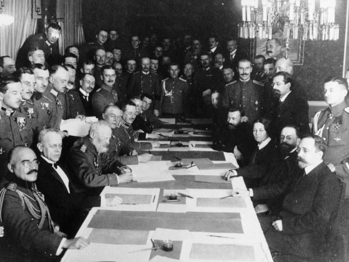 The Treaty Of Brest Litovsk