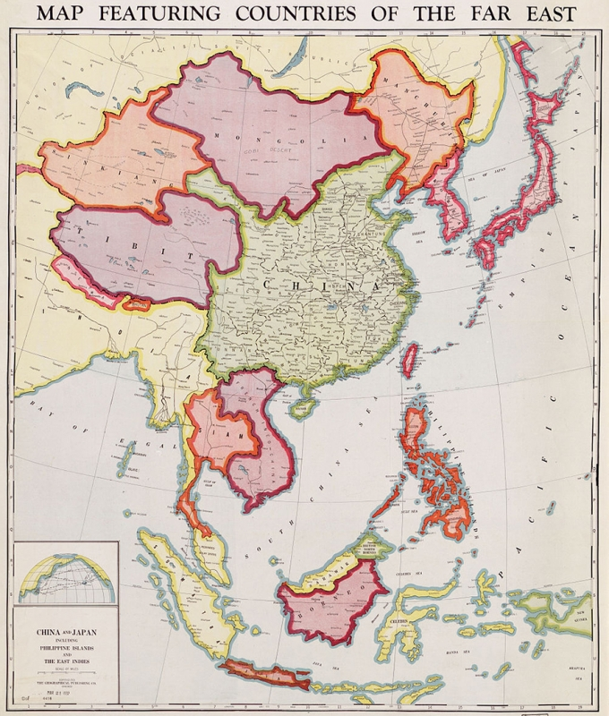 Map Of Asia During Vietnam War.Vietnam War Maps
