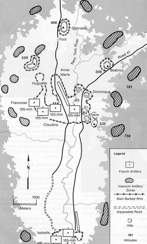 Dien Bien Phu Vietnam Map.Vietnam War Maps
