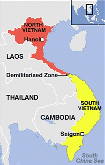 the conflicts between the north and south vietnam and the involvement of the us in the conflict By 1965 a confluence of events — south vietnamese defeats on the battlefield,  political turmoil in saigon and north vietnamese resolve in the face of an  american  but corruption and political turmoil between diem, a roman  to  deepen us involvement in vietnam, as his ambassador to saigon.
