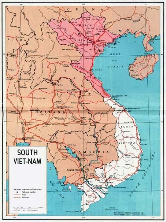 Vietnam War maps