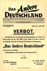 reichstag fire newspaper