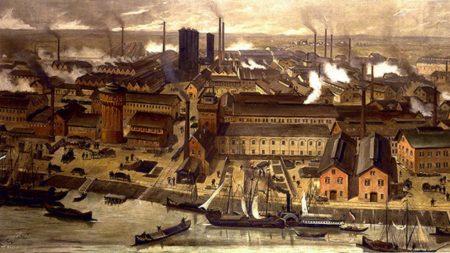 keiserlig tysklands industrialisering