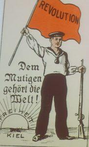 kiel mutiny postcard