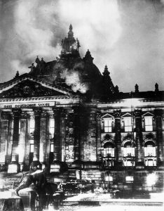 Reichstag fuego dictadura nazi