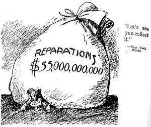 war reparations germany