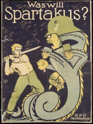 spartakusbund poster