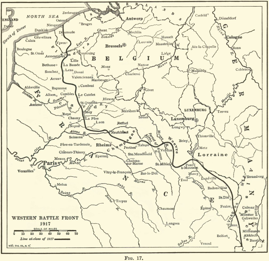 World war i maps 24 the western front december 1917 gumiabroncs Choice Image