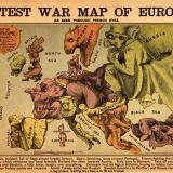 2. The latest War Map of Europe 1870