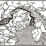 22. The Austrian-Italian border 1916