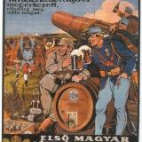 1914-la-cerveza-ha-llegado-el-enemigo-se está rindiendo-austria