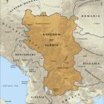 serbia map 1914